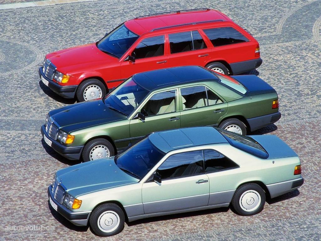 Mercedes W124 Historia - wersje nadwoziowe