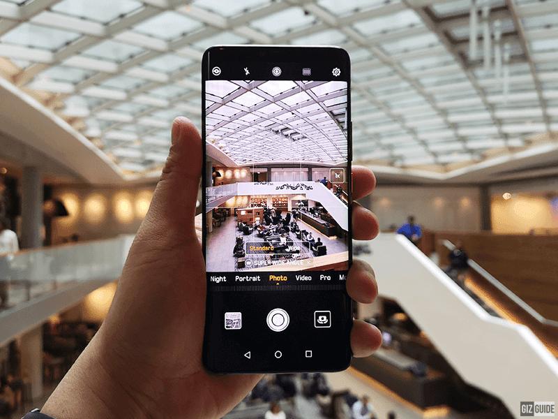 Huawei Mate 20 Pro aparat szerokokątny