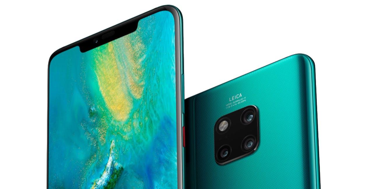 Huawei Mate 20 Pro tył i przód
