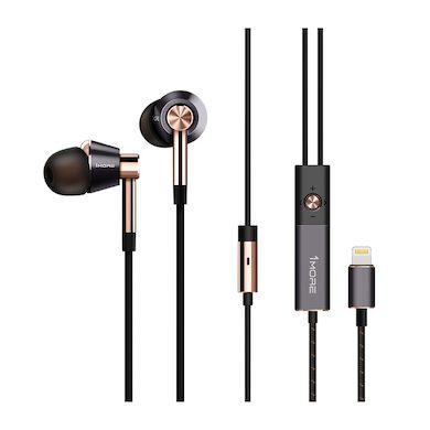 słuchawki 1more Triple Driver ze złączem Apple Lightning
