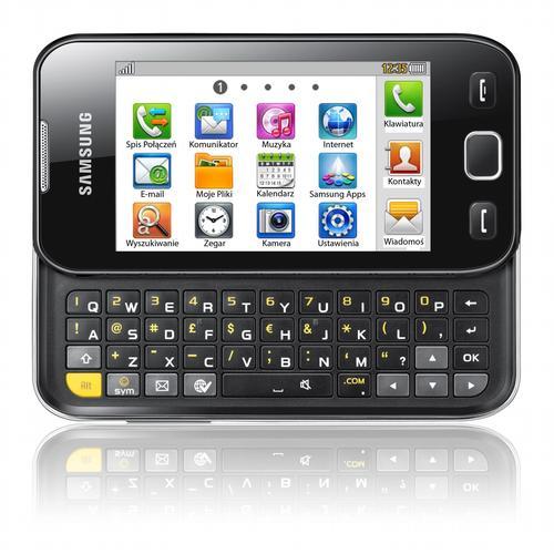 Samsung Wave 533 z pełną klawiaturą QWERTY i systemem bada OS