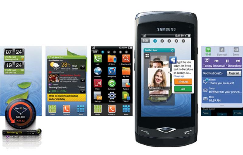 bada OS - interfejs systemu Samsunga z nakładką TouchWiz