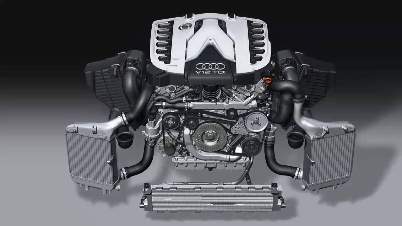 Silnik V12 TDI z Audi Q7