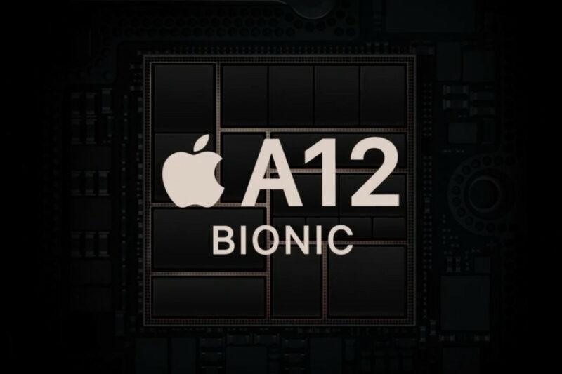 apple a12 bionic grafika