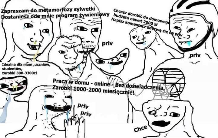 mlm sprzedaż bezpośrednia dochód pasywny mem