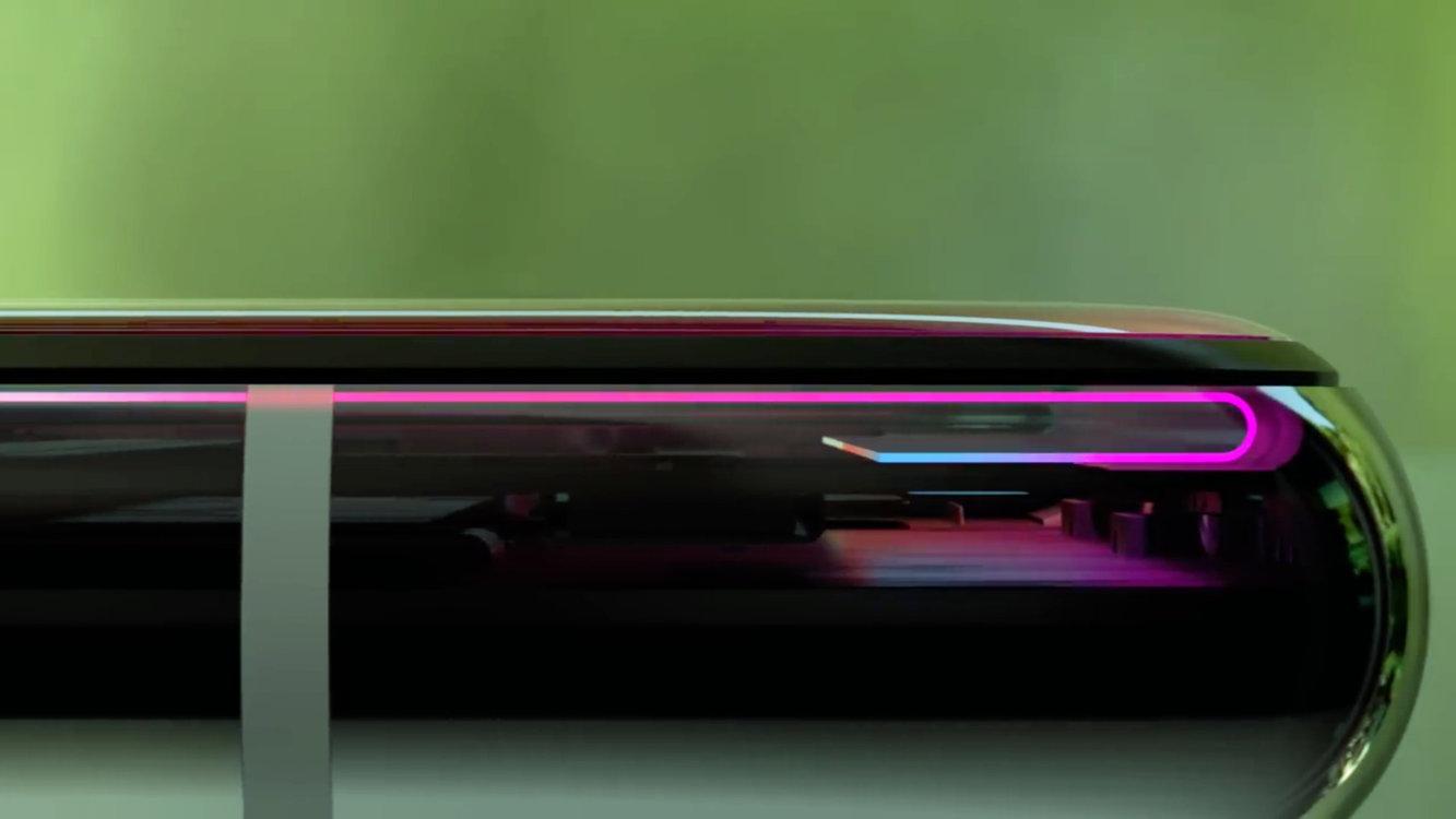 iphone xs max zagięty wyświetlacz rysunek