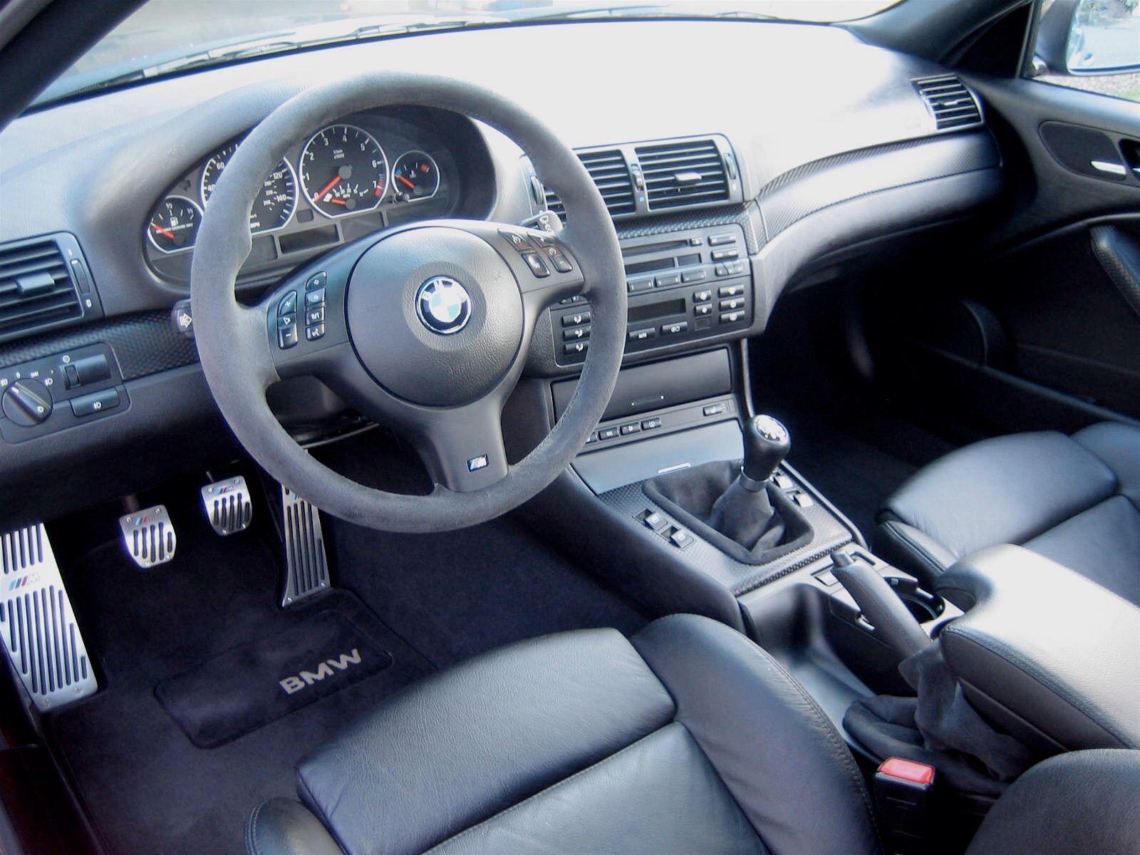 BMW E46 wnętrze