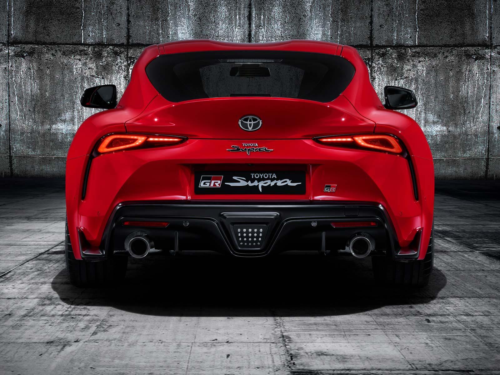 Nowa Toyota Supra 2019