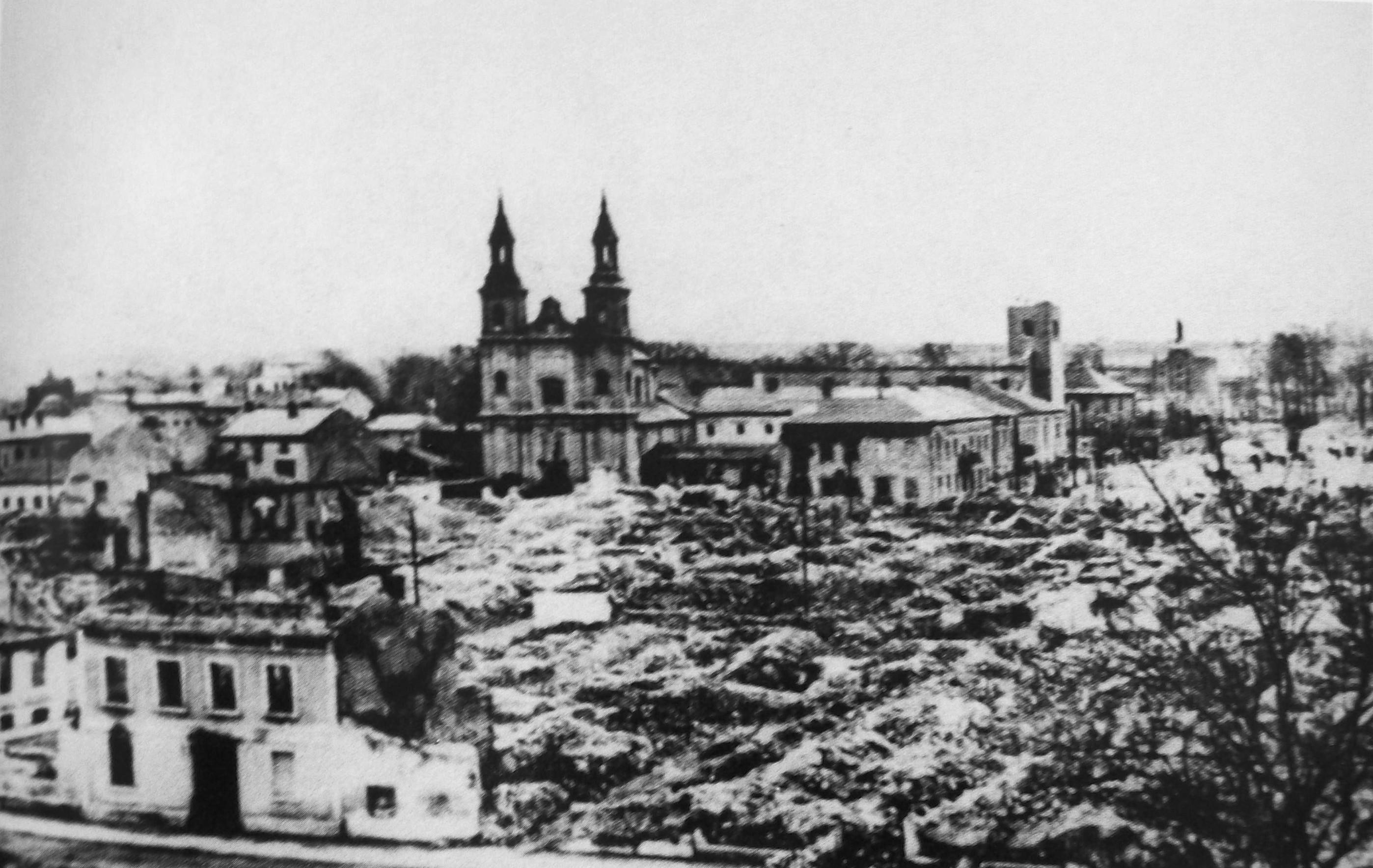 Wieluń bombardowanie gdzie rozpoczęła się ii wś