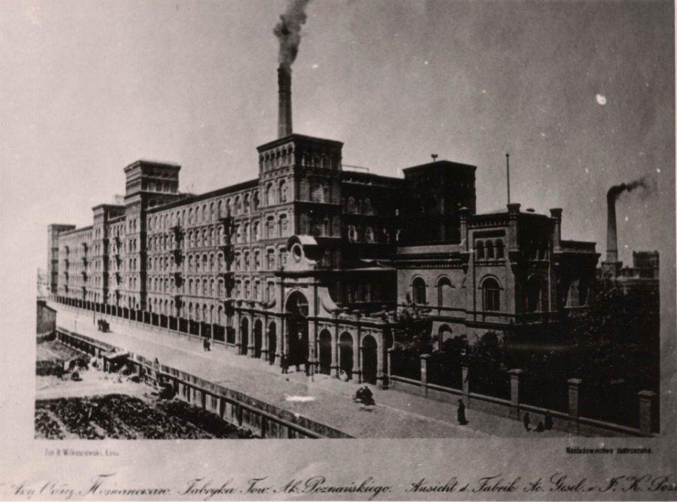 Łódzka manufaktura przed rewitalizacją - Manufaktura Łódź historia