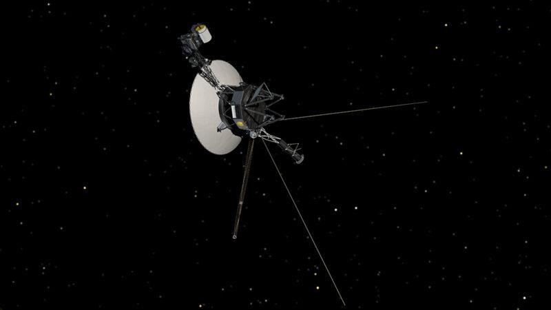 Voyager pale blue dot błękitna kropka