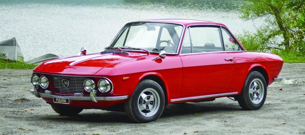 Lanca Fulvia Coupe V4