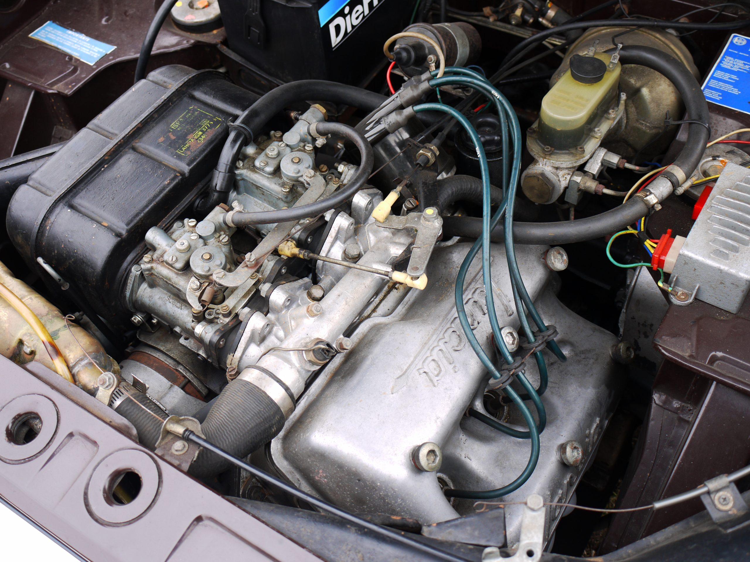 V4 silnik Lancia