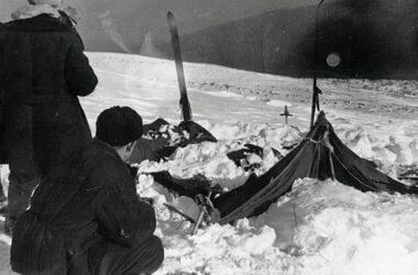 Tragedia na Przełęczy Diatłowa - namiot