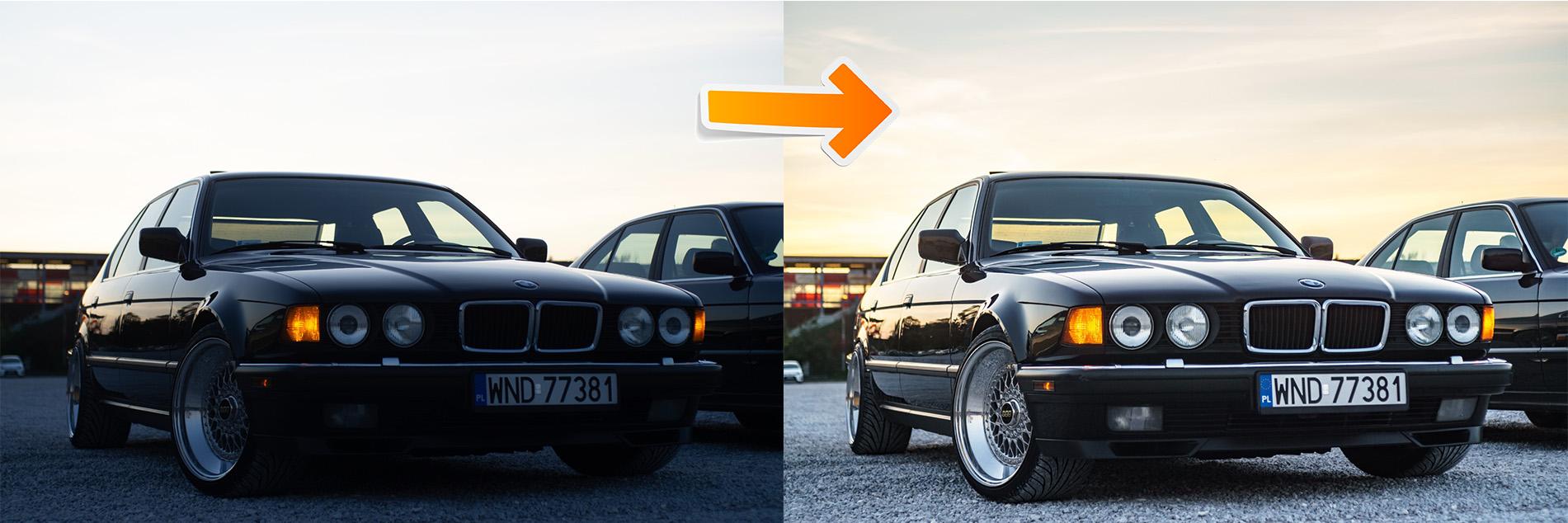 raw przed i po