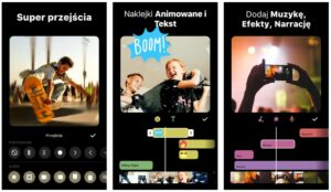 inshot aplikacje do montowania wideo na telefon
