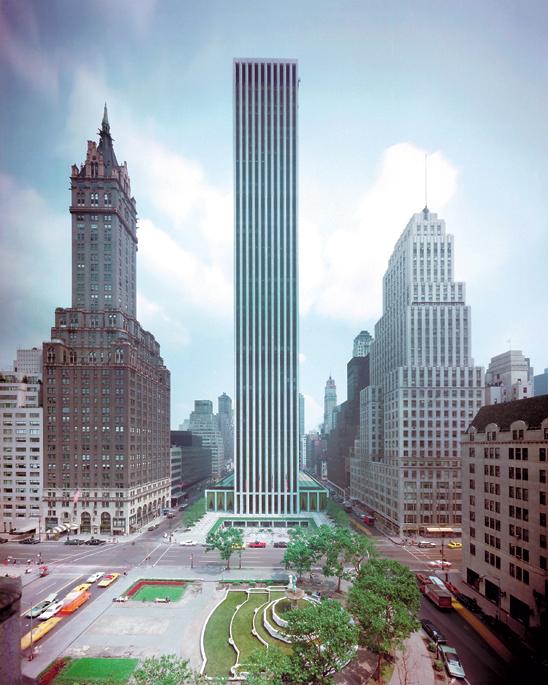 Budynek GM przed budową Apple Store 5th Avenue