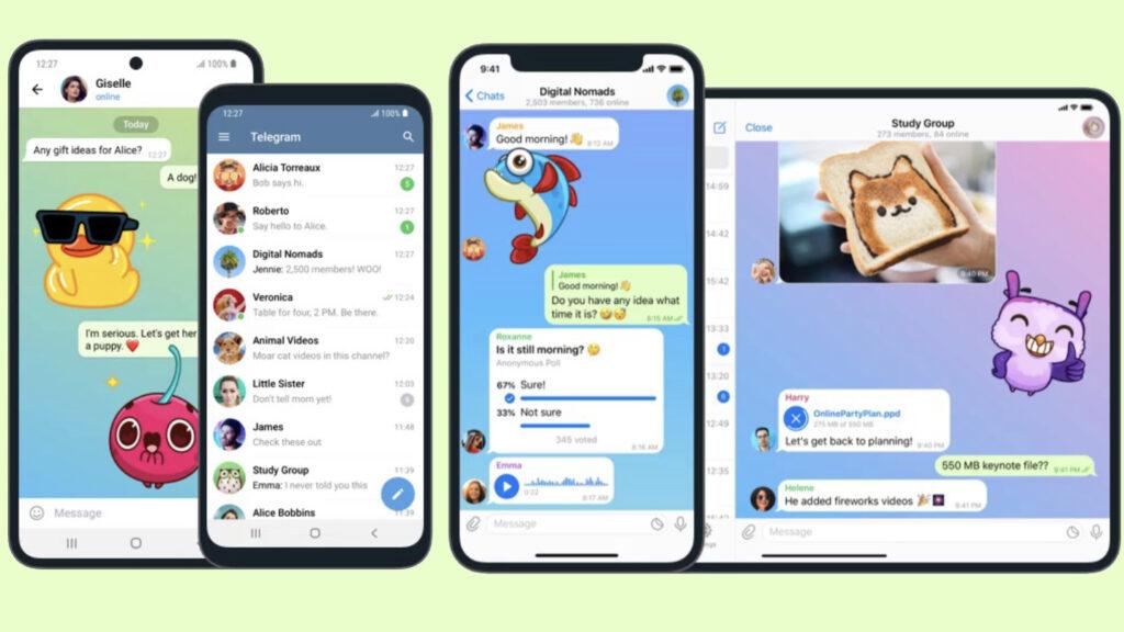 telegram - jaki komunikator wybrać