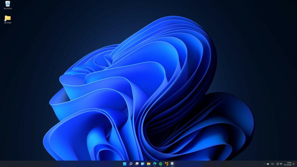 Windows 11 pasek zadań po środku jak zmienić