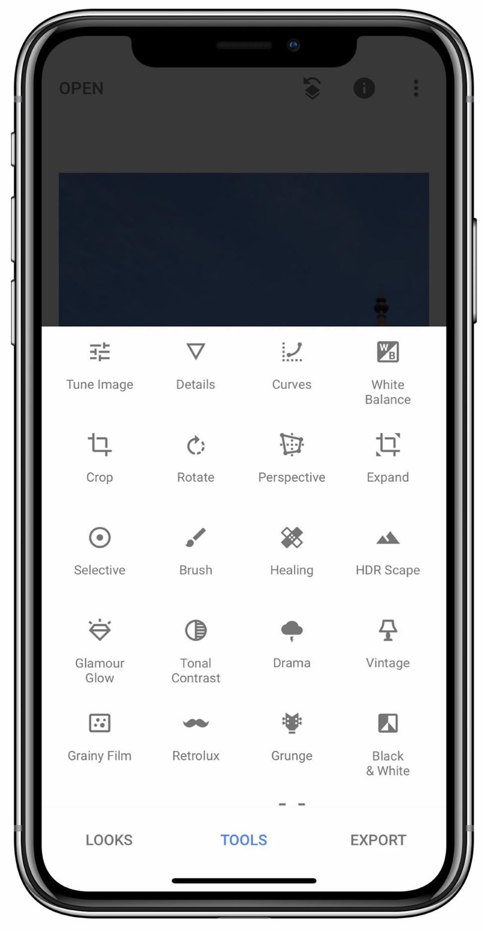 Snapseed - jaka aplikacja do edycji zdjęć na iPhone?