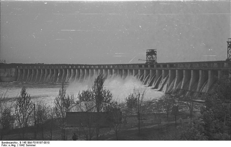 Dnieprzańska Elektrownia Wodna wysadzenie