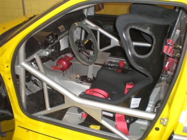 Clio V6 Trophy wnętrze