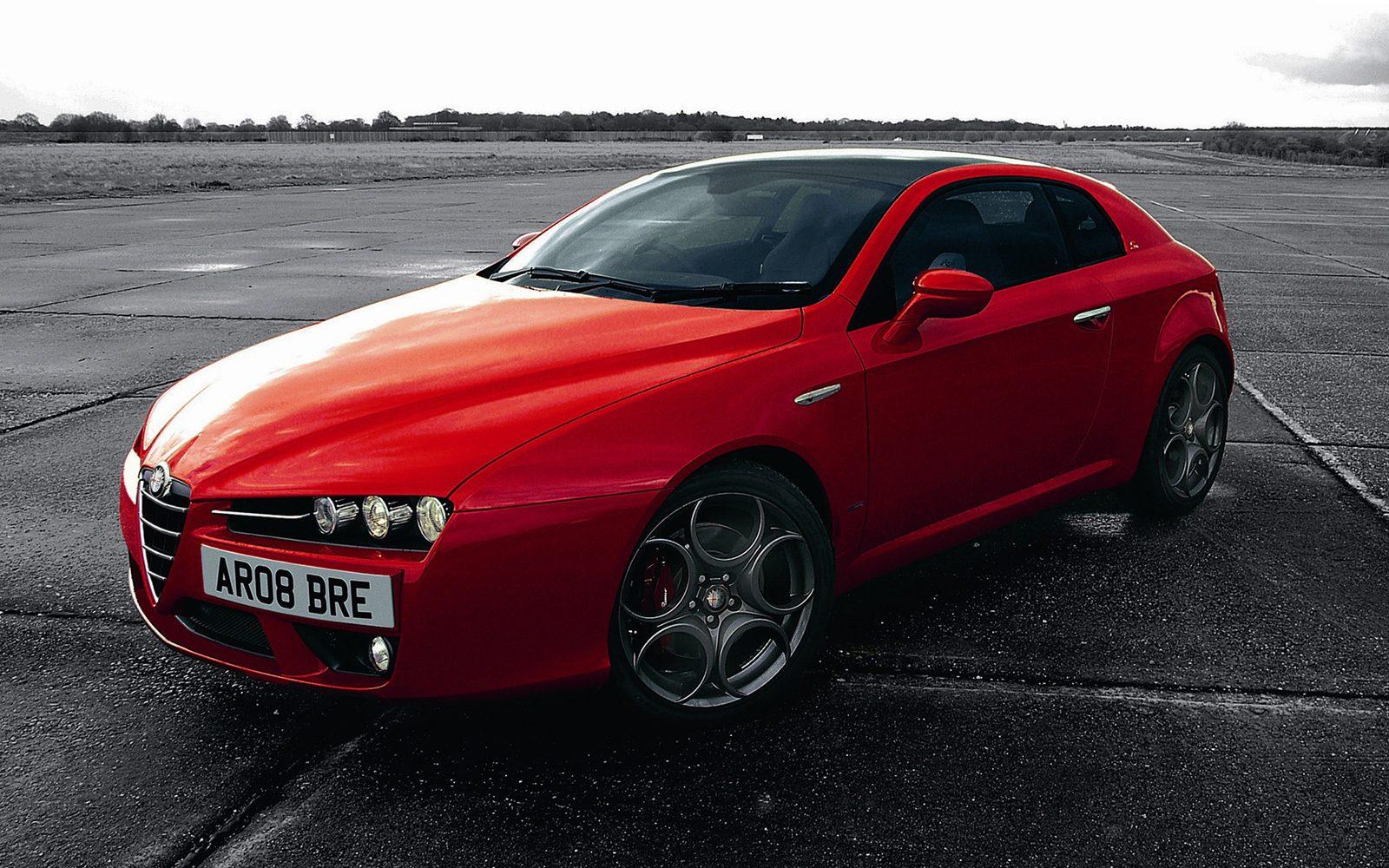 Alfa Romeo Brera. Samochody coupe do 30 tys.