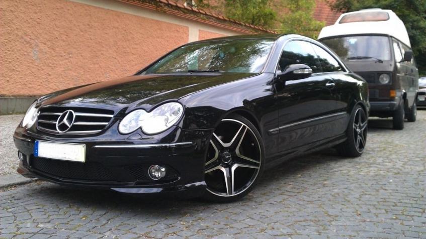 Mercedes CLK W209. Najlepsze coupe do 30 tys.