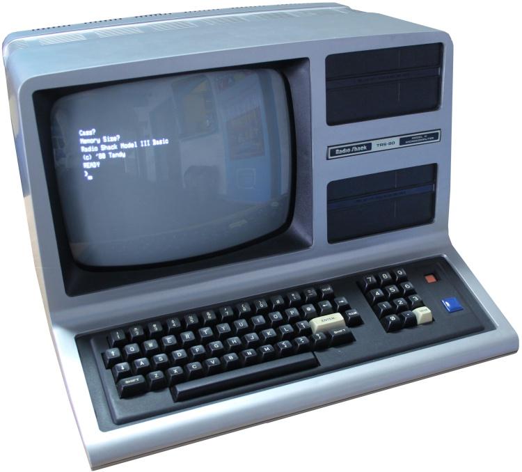 TRS-80, mikrokomputer. Xenix - uniksowy system operacyjny od Microsoftu.