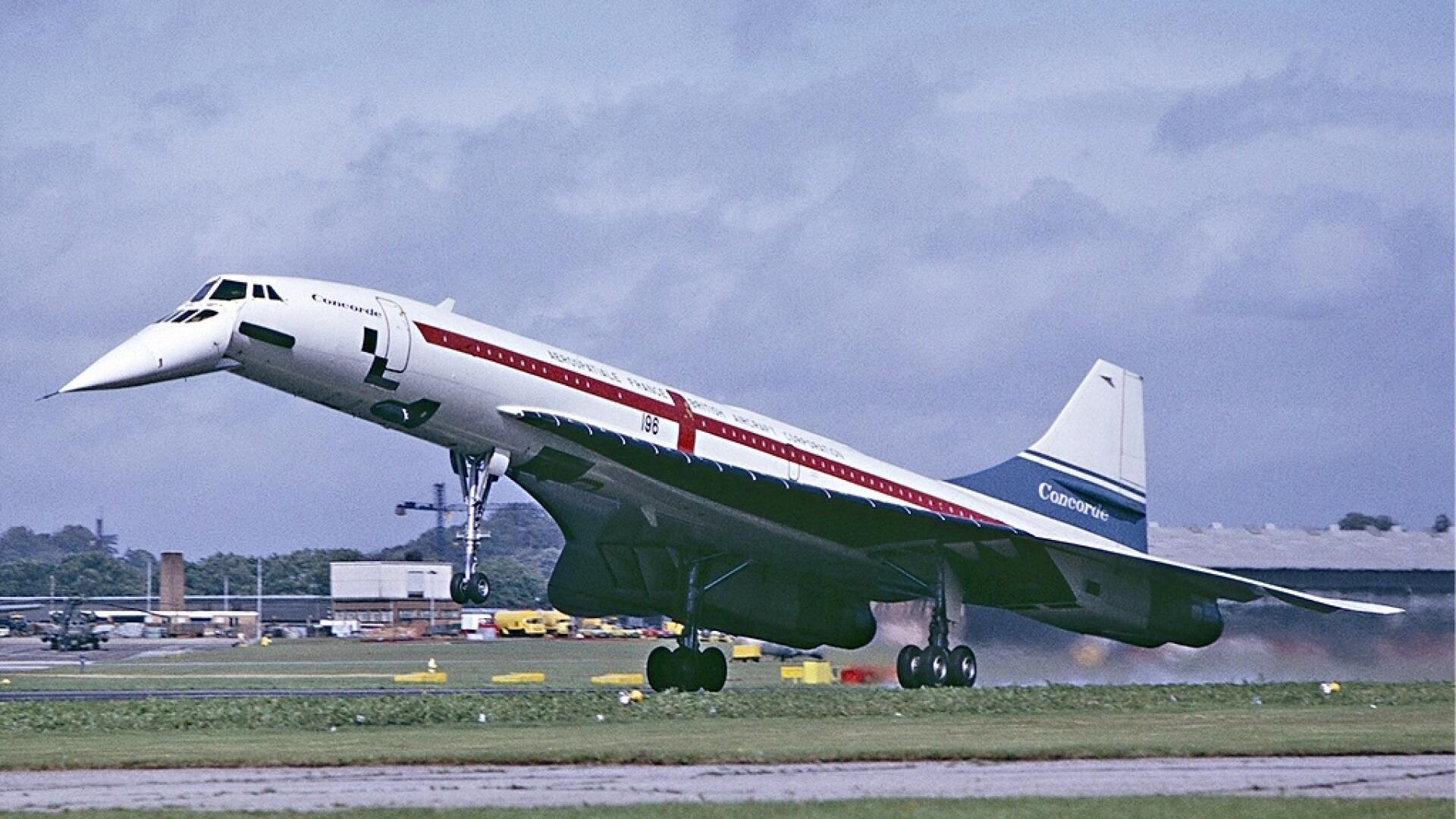 Concorde samolot naddźwiękowy