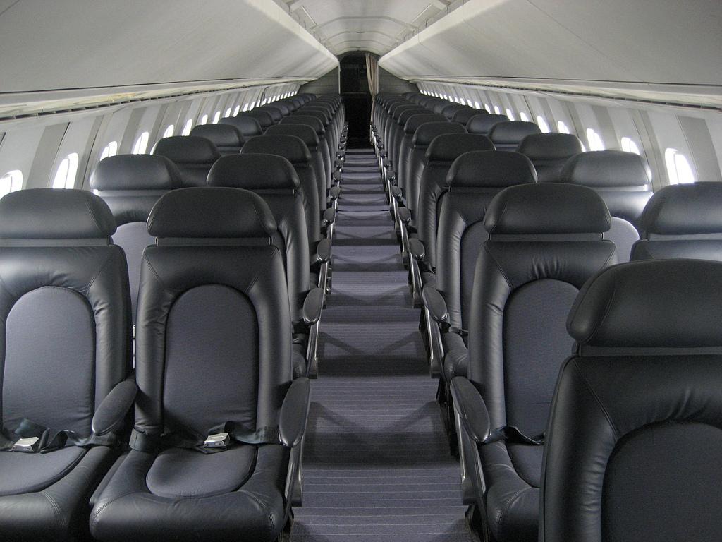 Concorde wnętrze