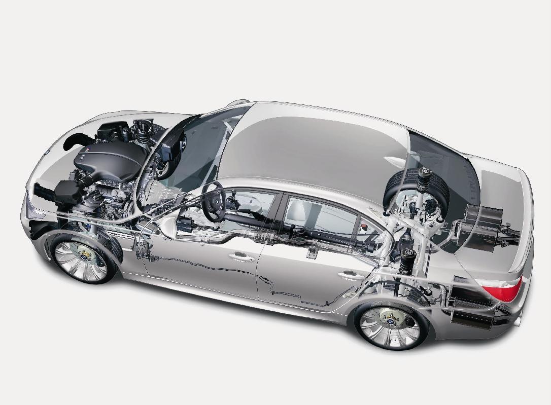 BMW E60 konstrukcja zawieszenie E60 czy warto