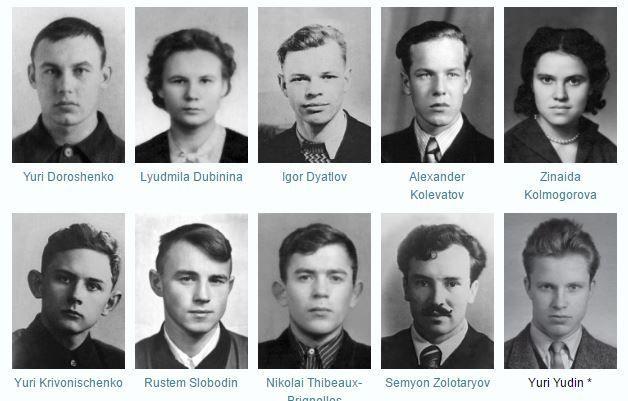 Tragedia na Przełęczy Diatłowa - uczestnicy wyprawy