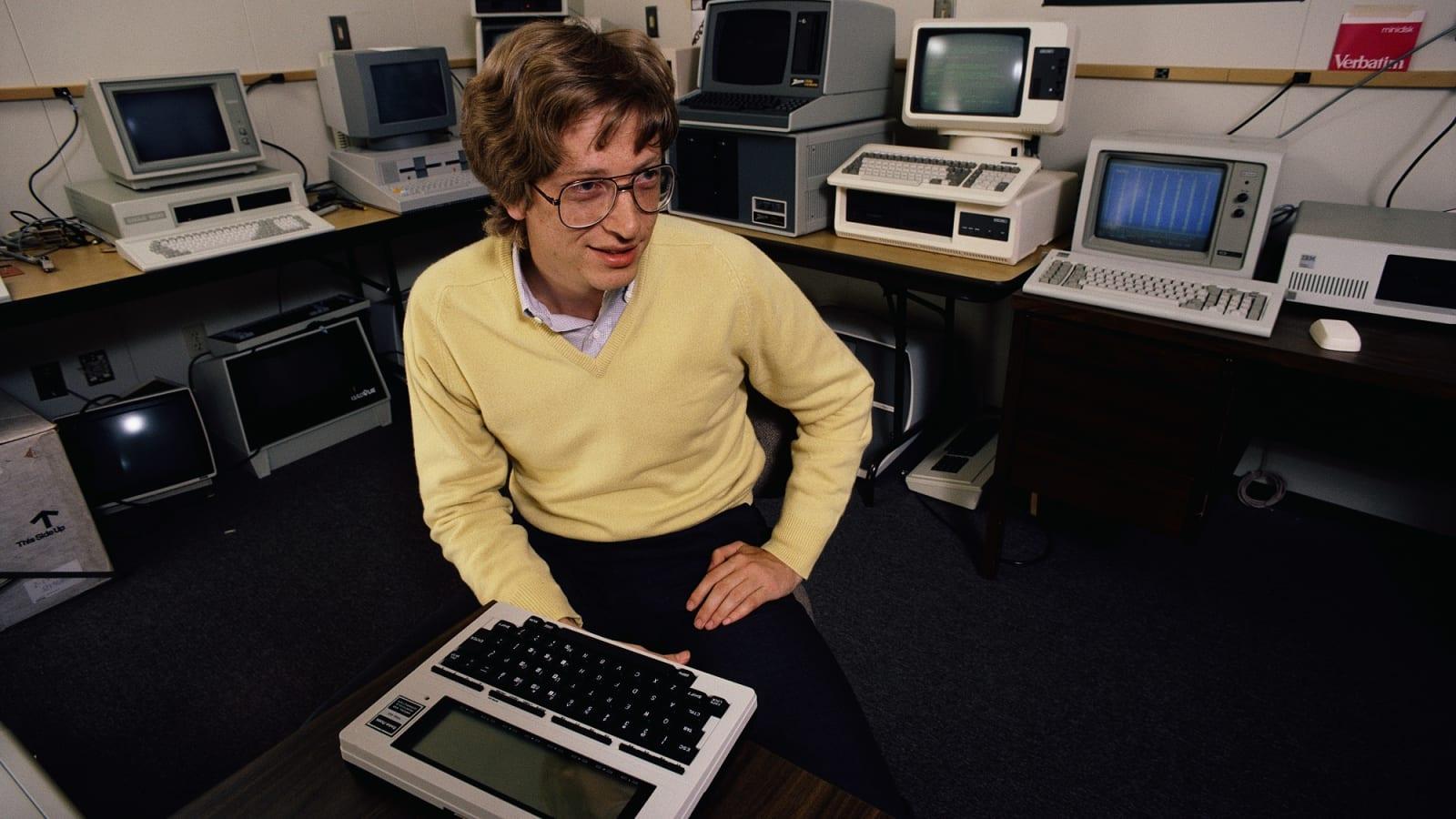 Microsoft nowe narodziny - Bill Gates