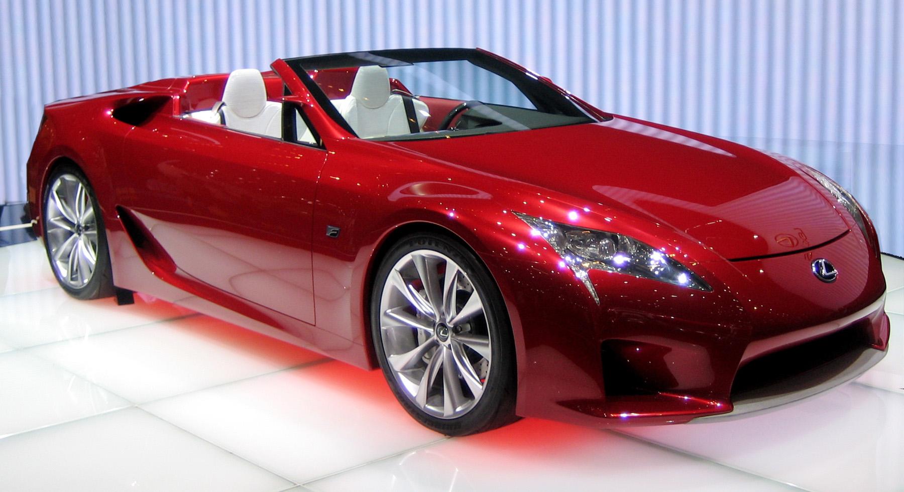 Lexus LFA Roadster